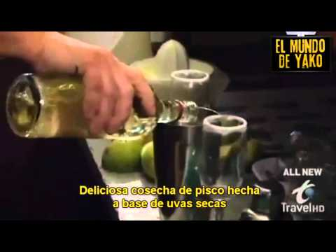 chef Bourdain prueba el pisco y no le gusto