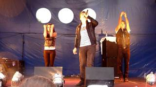 Joe McElderry at Rushfest 2011 - Love Is War