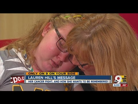 Lauren Hill closeup: Tears, laughs from a hero dying young