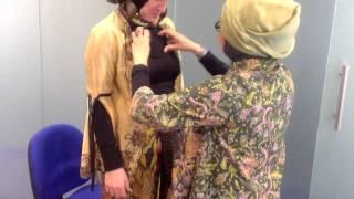 Hijab styling with Nina Tursinah, Apindo, and Charlotte Kalin, CTS