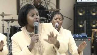 """The Anointed Mims Singers """"Can't Nobody"""" part 1"""