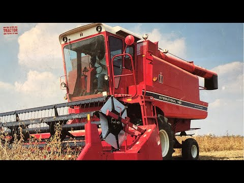 The First International 1460 Axial-Flow Combine Produced