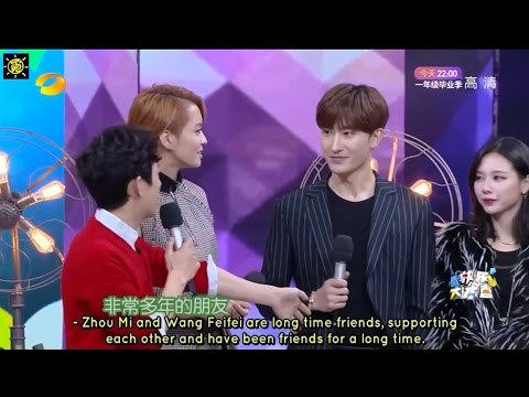 [ENG SUB] 161203 Happy Camp with Zhou Mi & MissA Fei
