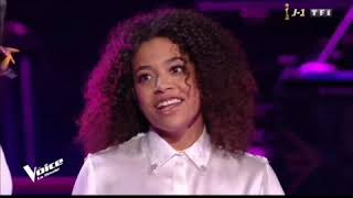 AYA NAKAMURA ET WHITNEY SUR THE VOICE FRANCE SAISON 9  FINAL CHANTE JAJA