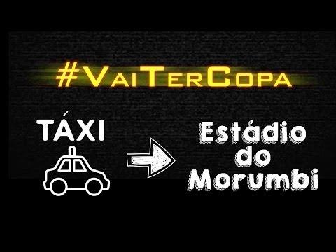 De táxi para o Morumbi - #VaiTerCopa - 02