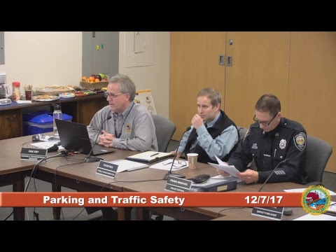 Parking and Traffic Safety Committee 12.7.2017