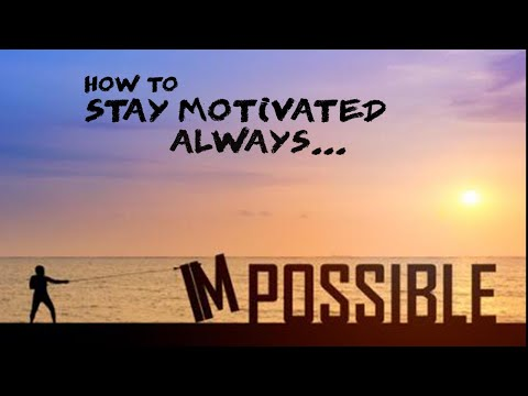How To Stay Motivated Always; Powerful Motivational Video. In Hindi By Dr. Kanchan Gaba