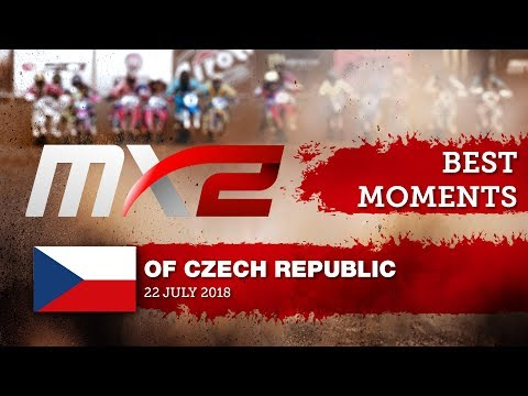 MX2 Best Moments - MXGP of Czech Republic 2018  #motocross