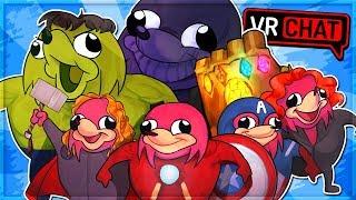 UGANDAN KNUCKLES INFINITY WAR! Avengers Knuckles (VRChat Funny Moments)