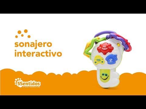 Sonajero interactivo Baby Innovation Multicolor video