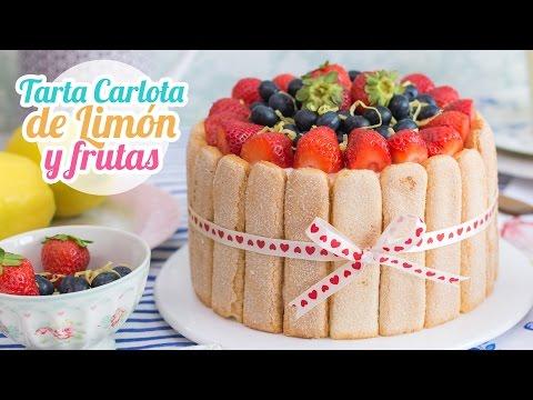 Carlota de Limón | Postre sin horno | Quiero Cupcakes!