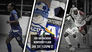 RGV Barracudas vs Monterrey Flash