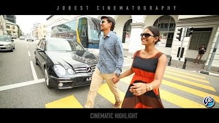 Beautiful Cinematic Entrance + Reception Highlight - Vasanthan + Sangeetha by Jobest