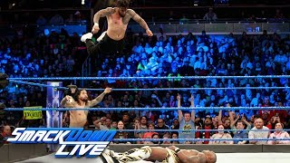 The Usos vs. Gable & Benjamin - SmackDown Tag Team Title Match: SmackDown LIVE, Jan. 2, 2017 | Kholo.pk