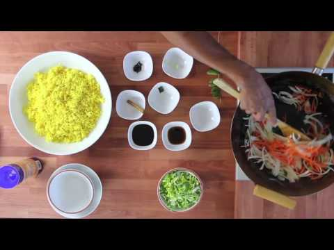Video recipe blog the spicy gourmet oriental fried rice forumfinder