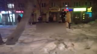 Тюмень, 03.03.16, первые минуты после ЧП на Ямской
