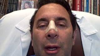 Dr. Paul Nassif — Nasal Injury Journal Day 5