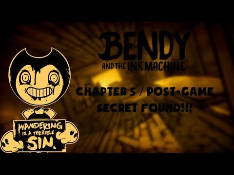 SPOILERS] Bendy Post-Game Secret Found :: Bendy and the Ink