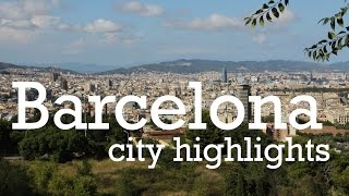 preview picture of video 'Barcelona City Tour Highlights'