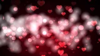Love motion background | Hearts falling background | Hearts Background HD | Royalty Free Footages