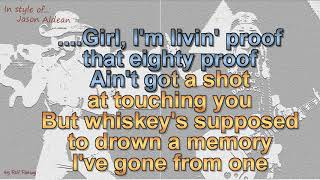 Jason Aldean   Drowns The Whiskey (feat  Miranda Lambert) Cover