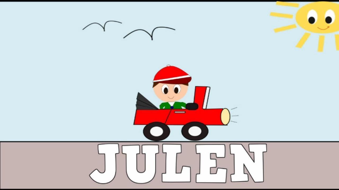Aprender a Leer y Escribir JULEN - Vídeos educativos para Niños y Bebés- Paty y Poty