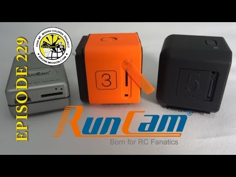 Runcam 5 Unbox, QR App, Flight Views