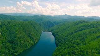 Flying Through The Smoky And Cherokee Mountains In Eastern Tennessee With A Phantom4 Drone