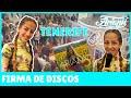 ARIANN - QUEDADA  en Tenerife, CC Meridiano , firma de discos y libros