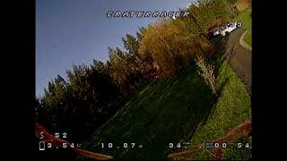 FPVCrater Racer Maiden Flight - FPV