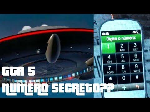 GTA 5 NUMERO SECRETO E SOM ESTRANHO