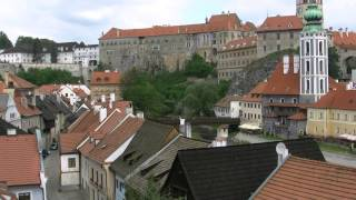 preview picture of video 'アキーラさん散策⑤チェコ・チェスキークルムロフ市街Cesky-Krumlov,Czech'
