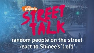 People on the street react to Shinee