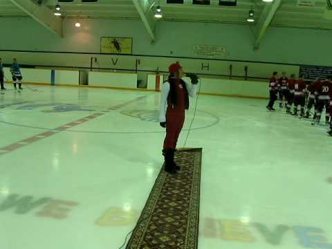 Christine Oram ~ Christine Rock sings O Canada National Anthem