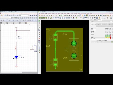 Starting with OrCAD and Cadence Allegro PCB - Tutorial for ...