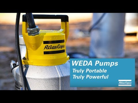 WEDA submersible pumps: five great reasons to pick them, by Atlas Copco - zdjęcie