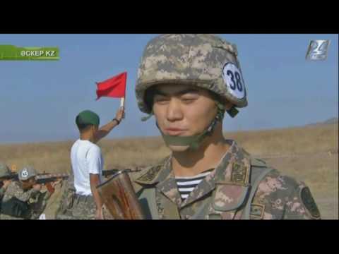 Әскер KZ. Лучший сержант Вооруженных сил РК