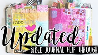 Bible Journal Flip Through Update