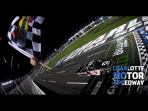 Busch holds off Poole for Charlotte Gander Trucks win