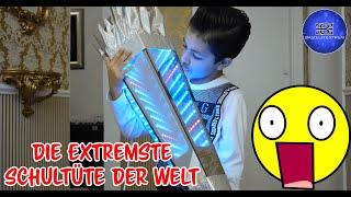 Extremste Infinity Mirror Spiegel Schultüte selber basteln füllen Geschenk Idee Einschulung