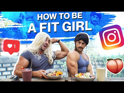 The Fit Girl Challenge | We Became 'INSTA GIRLS' for 24 Hours