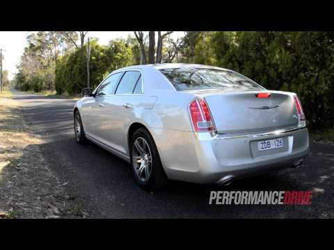 2012 Chrysler 300C CRD engine sound and 0-100km/h