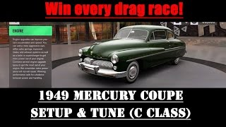 Win Every Drag Race in Forza Horizon 3!!! Level Up! Get Spins! Mercury Coupe Setup  Tune