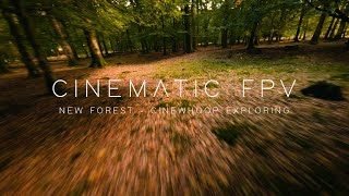 Cinewhoop Exploring New Forest, Hampshire - Cinematic FPV Drone 4K - (GoPro Hero 8 Black)
