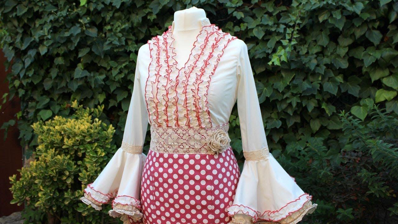 93fd37d3a falda flamenca | facilisimo.com