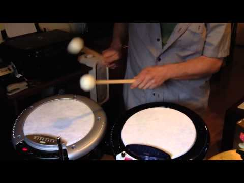 NEW Korg Wavedrum Global and Comparison to Wave Drum Standard