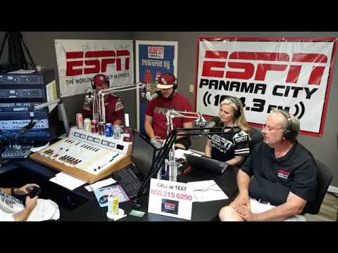 Coach Bobby Bowden Interview on 104.3 ESPN Panama City, Coach's Daughter Show