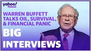Warren Buffett talks coronavirus and oil 'one-two punch' on stock market