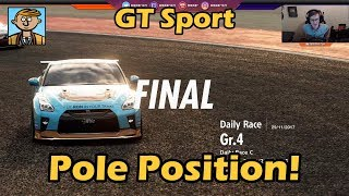 The First Pole Position! - Gran Turismo Sport Live #8