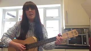 'Daring to love' by Ane Brun acoustic cover baritone ukulele